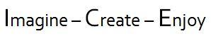 Imagine Create Enjoy